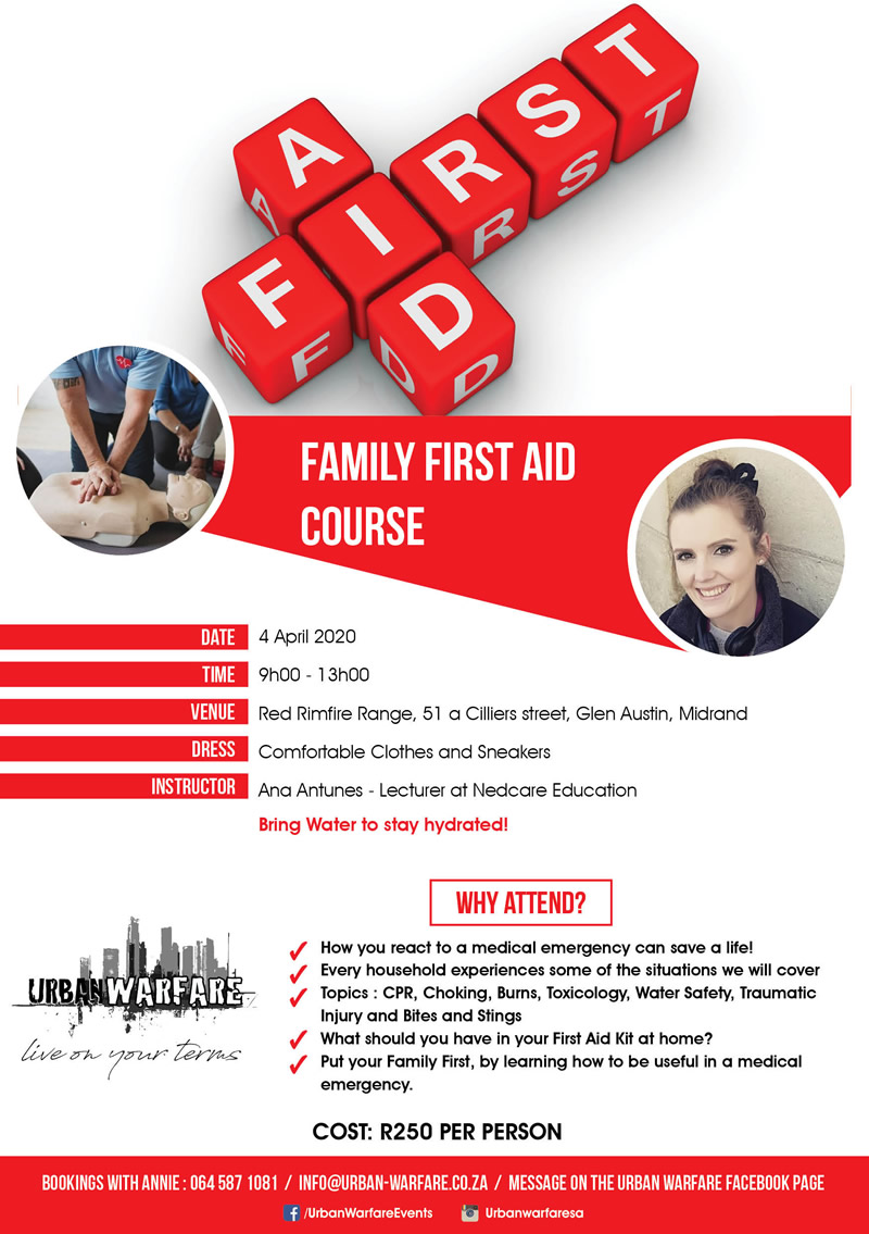 flyers Family First Aid